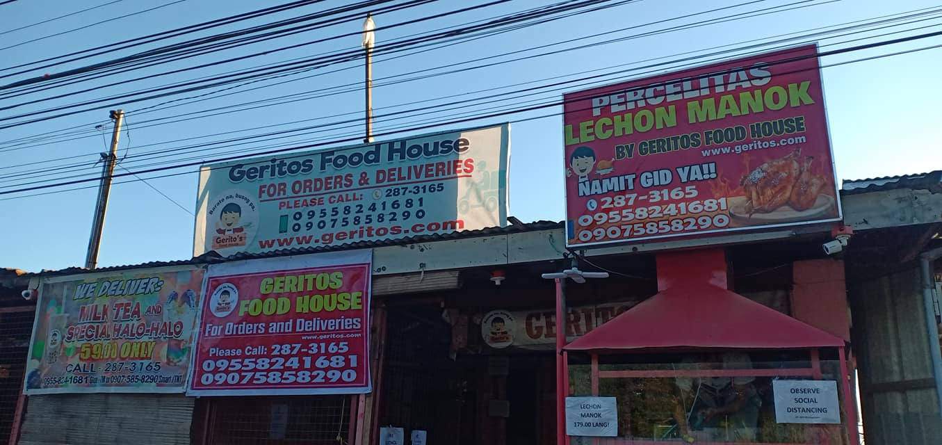 Geritos the best pansit in davao